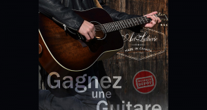 Une guitare Art & Lutherie