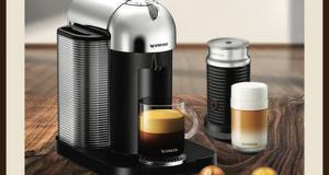Une machine à café Vertuo de Nespresso