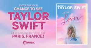 Voyage pour 2 personnes à Paris pour voir TAYLOR SWIFT