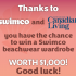 1000 $ de maillots Swimco