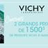 2 paniers cadeaux de produits VICHY de 1500$ chacun