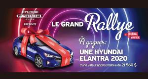 Gagnez une voiture Hyundai Elantra Preferred 2020