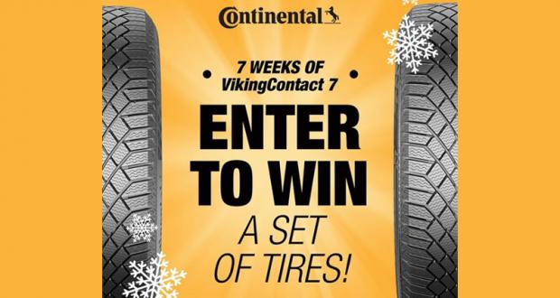 Un ensemble gratuit de pneus d'hiver