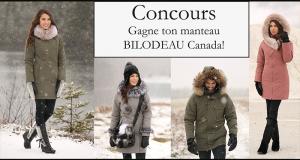 Un magnifique manteau d'hiver signé BILODEAU Canada