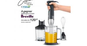 Un mélangeur à main Breville