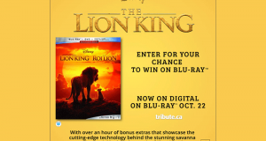 Blu-ray du film Le roi lion