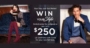 Carte cadeau Le Château de 250$