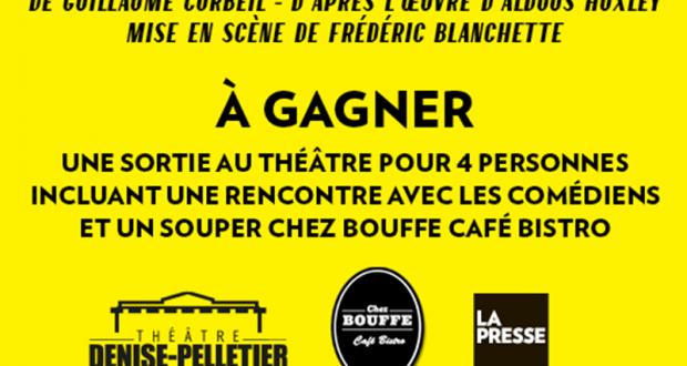 Forfait Théâtre pour 4 Personnes (Valeur de 440 $)