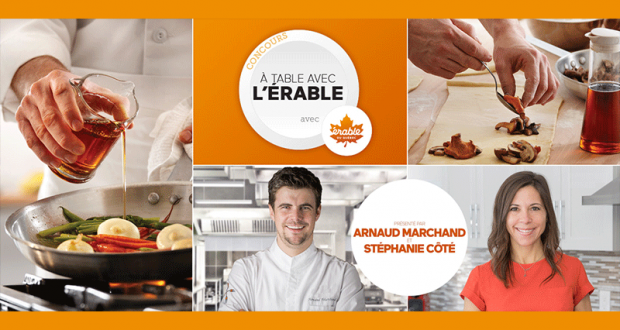 Gagnez 1 des 5 ateliers culinaires de 400$ chacun