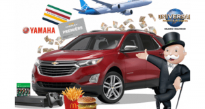 Gagnez 7 Chevrolet Equinox et 10 chèques de 10 000$