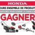 Gagnez un Ensemble de produits Honda (Valeur de 3704$)