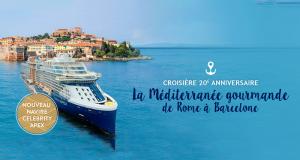 Gagnez un Voyage de 14 jours en Méditerranée (valeur de 14 328 $)