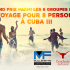 Gagnez un voyage à Cuba pour 8 personnes (Valeur de 10 000 $)