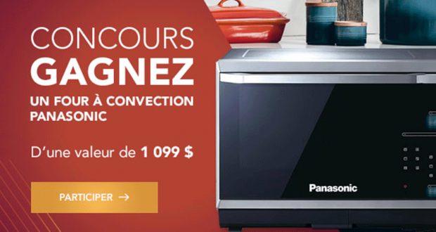 Un four à induction haut de gamme Panasonic de 1 099 $