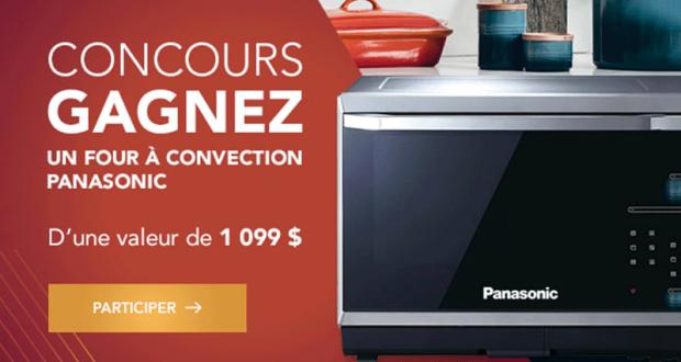 Un four à induction haut de gamme Panasonic de 1 099 $
