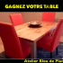 Une table offerte par Atelier Bleu de Plume
