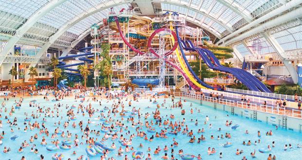 Voyage de luxe pour 2 personnes au West Edmonton Mall