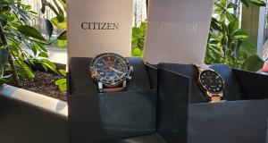2 Montres de Citizen pour homme ou femme