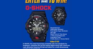 2 montres CASIO G-SHOCK GA700
