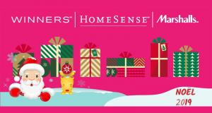 6 cartes cadeaux de 50$ Winners - Marshalls - Homesense
