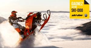 Gagnez la motoneige Ski-Doo 2020 de votre choix (Valeur de 24000$)