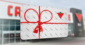 Gagnez l'une des cartes-cadeaux Canadian Tire de 200$