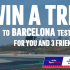 Gagnez un Voyage pour 4 personnes à Barcelone