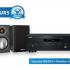 Récepteur stéréo Yamaha avec Haut-parleurs Monitor Audio