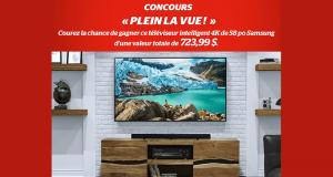 Téléviseur intelligent 4K de 58 po