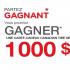 Un grand prix de 1000$ chez Canadian Tire de Granby