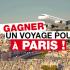 Un voyage pour 2 en France d'une valeur de 4000$