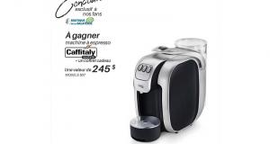Une machine espresso Caffitaly + Un coffret cadeau