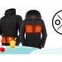 2 vestes chauffantes Ororo pour homme et femme