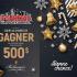 500 $ échangeable à la Bijouterie P & M Bélanger