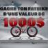 Fat Bike X8 Rumble Seven Peaks de 1000$