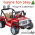 Jeep électrique pour enfant