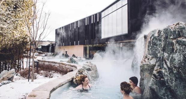 Un forfait au Strøm Spa Nordique Vieux-Québec