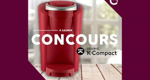 Une cafetière une Keurig K-Compact