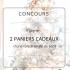 2 paniers-cadeaux Mise en beauté de 660$