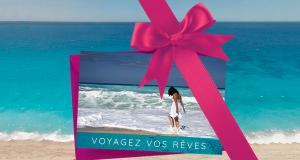Certificat-cadeau voyage de 1000$