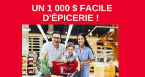 Gagnez Un 1 000 $ Facile d'épicerie grâce à IGA