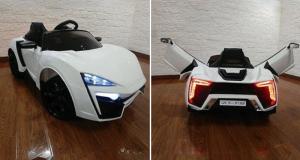 Gagnez Une voiture Lykan 12VOLTS pour enfants