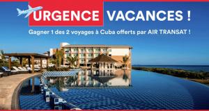 Gagnez un des deux voyages à Cuba offerts par AIR TRANSAT