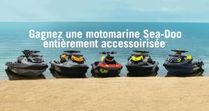 Gagnez une motomarine Sea-Doo accessoirisée (Valeur de 26 000 $)