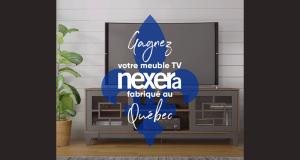 Gagnez votre meuble TV Nexera