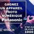 Un appareil photo numérique Panasonic (Valeur de 900 $)