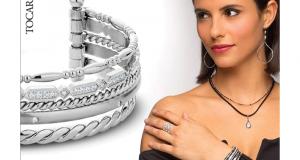 Un bracelet MARILOU avec diami