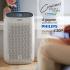 Un purificateur d'air de la marque Philips