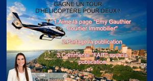 Un tour d'hélicoptère pour 2 au dessus de la ville de Québec