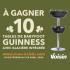 10 tables de babyfoot Guinness avec glacière intégrée